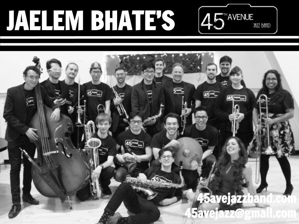 Big-Band-Month:-Jaelem-Bhate's-45th-Avenue-Jazz-Band-12-13-2017